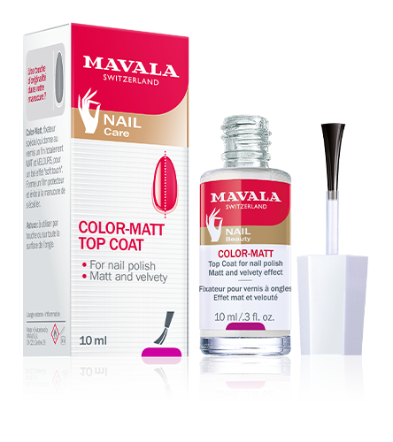 Color-Matt Top Coat